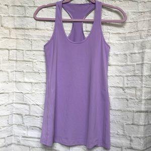 Lululemon racerback flow tank top light purple 💜